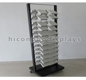 Acrylic Floor Tiles Display Racks
