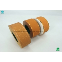 Cheap Yellow Cork Tipping Paper Excellent Optical And Printed Appearance 65% Opacity for sale