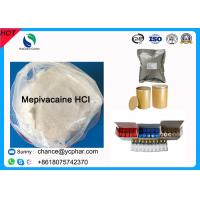 Cheap Surface Anesthesia Drugs Mepivacaine Base for Abdominal Surgery CAS 22801-44-1 Local Anesthetic Drugs Mepivacaine HCI for sale