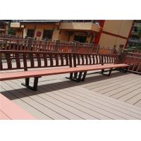 Wood Plastic Composite Anti-weathering Durable Park Leisure Bench & Chair