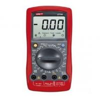 China Uni-T Ut105 Automotive Digital Multimeter With 4 / 6 / 8 Cyl Dwell Angle on sale