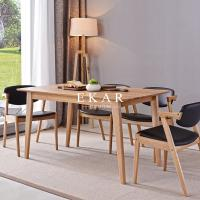 Cheap European Modern Furniture Dining Room Sets Dining Table Designs In Wood for sale