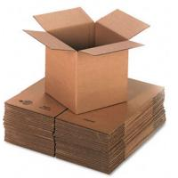 Cheap Self Locking 3 Layers Corrugated Packaging Boxes Plain Cardboard Paper Box for sale