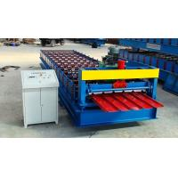 Cheap 300H Steel Roofing Corrugated Sheet Roll Forming Machine Automatic Control System for sale