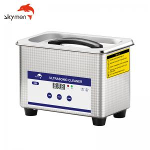 Cheap 30 Mins Benchtop Ultrasonic Cleaner 35W 0.8L For Coins Removing Dirt for sale
