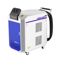 Cheap 1064nm Rust Cleaning Machine , 500W Laser Cleaner For Matel Surface for sale