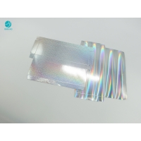 Cheap Holographic Surface Rectangle Cardboard Cases With Custom Design Embossed Logo for sale