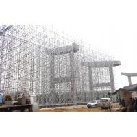 Cheap SGS Audit Ringlock Metal Scaffolding System Highly Effective Flexibility Heavy Load for sale