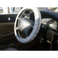 China steering wheel cover, car seat cover, disposable cover, pe car foot mat, gear cover, auto, Protective automobile product on sale