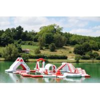 Buy cheap France Inflatable Commercial Water Park / Lake Inflatable Water Games Park from wholesalers