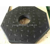 Cheap Outdoor Rubber Pavers / Rubber Floor Paver Training Room Interlocking Tile for sale