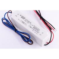 Cheap LPV-35-24 36W 1.5A 24V LED Power Supply Waterproof Isolated Plastic IP67 90~264VAC Input for sale