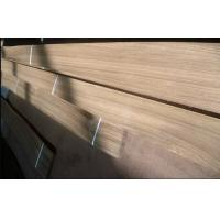 Natural Sliced Cut Burma Teak Veneer Quarter Cut With Grade A / B For Furniture