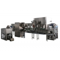 Cheap SUS316L 5000BPH Washing Filling Capping Hot Juice Filling Machine for sale