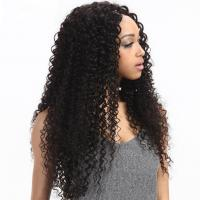 China 8'' Kinky Curl Middle Part 100% Brazilian Virgin Hair Lace Closure For Ladys on sale
