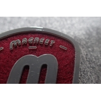 Cheap Handmade Silicon Screen Printing Shoes Felt Logo Patches for sale