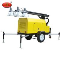 Cheap widely used Portable Mobile Light Tower from manufacture for sale