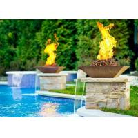 Cheap Garden Fire Pit Water Feature Combo , Fire Pit And Water Feature 2.5mm Thicknes for sale