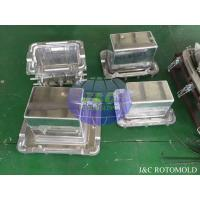 Cheap Aluminum Rotational Molds With Mirror Surface Treatment , Ice Boxes Roto Moulder for sale