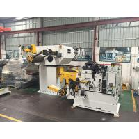 Cheap Automotive Processing 3 In 1 Servo Feeder , Metal Uncoiler Stamping Feed Line for sale