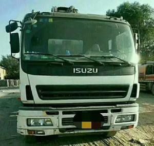 Cheap ISUZU-ZOOMLION Brand Pump Truck Used Euro III Engine Emission Standard for sale