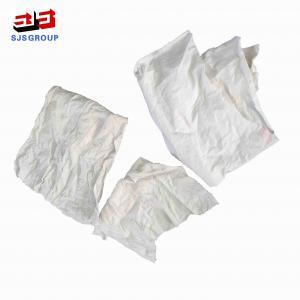 Cheap 25kg/Bale 25*55cm Pure Cotton T Shirt Rags for sale