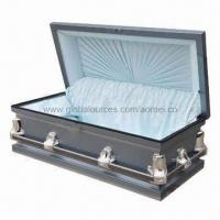 Cheap US Style Infant Metal Casket, XH2602F for sale