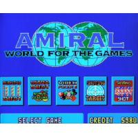 Cheap Hot Spot Amiral 5 in 1 casino gaming machine PCB for sale
