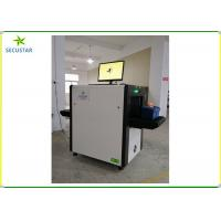 Cheap 505X304cm Tunnel X Ray Parcel Scanner Hotel Security Checking With Extension Trays for sale