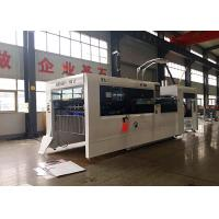 Buy cheap Speed 5000 Sheets Automatic Paperboard Flat Bed Type Die Cutting Creasing from wholesalers