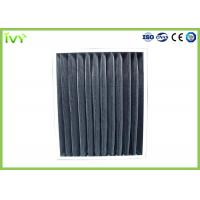 Cheap Porosity 5um Activated Carbon Air Filter G3 Efficiency Panel Filter Construction for sale