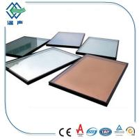 Cheap Flat / Bent Clear Double Insulated Glass panels , safety Insulating Glass for sale