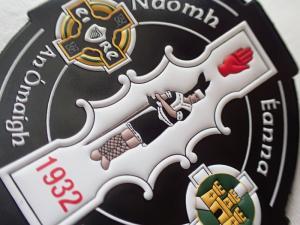 Cheap Eco Friendly Custom TPU Badges 3D Embossed Logo Heat Transfer For Garment for sale
