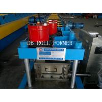 Cheap Cr12 Punching materia C Shape Steel Purlin Roll Forming Machine for sale