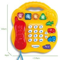 China Learning Phone,battery operated toy, with music, story telling, number reading. English Version. on sale