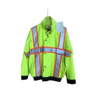 Quality No Pilling Work Coats And Jackets , Safety No Fading Industrial Work Jacket wholesale