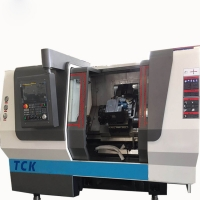 China TCK6340 Small Slant Bed Lathe CNC Turning Center For Processing Steel And Cast Iron Material Machine on sale