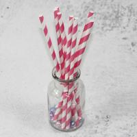 Cheap 6mm 8mm 10mm longth red yellow white color bamboo paper drinking straws fancy straws for drinks for sale