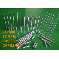 Cheap Precipitation Hardening Special Alloys Capillary SUS630 / S17400 High Hardness for sale