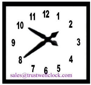 China analog clocks 1m 1.2m 1.5m 1.8m 39inch 59inch 42inch 3feet 4feet, slave wall clock, (YANTAI)TRUSTWELL CO LTD on sale