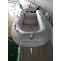 Cheap Laterally Folded Rib Inflatable Boat Handmade Inflatable Dinghy Boat With Boat Cover for sale