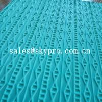 Cheap High density rubber sheet for shoe 3D pattern recycle eva shoes sole material for sale