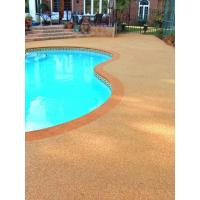 China EPDM Pool Rubber Flooring , Outdoor Rubber Surfacing For Pools And Patios on sale