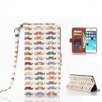 Cheap Fashion Cute Painted Pattern Flip Leather Case W/Stand For Iphone 6 Plus for sale