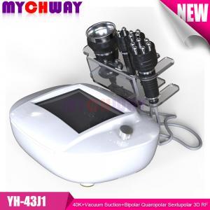 Cheap Professional 40K+Vacuum Suction+Bipolar Quaropolar Sextupolar 3D RF Radio Frequency Slimming for sale