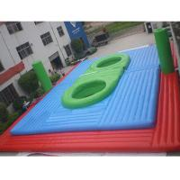 Buy cheap Inflatable Waterproof and Fireproof Bossaball Filed Sport Games Price from wholesalers