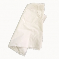 Cheap SGS No Logo Pure White 100% Cotton Wiping Rags 39*39cm for sale