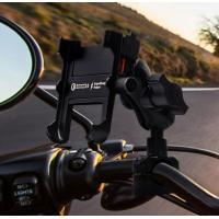 Cheap 360 Degree Rotation Aluminium Alloy Motorcycle Cell Phone Holder With QC 3.0 Usb fast charger for sale