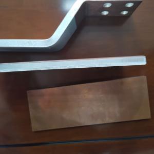 Cheap Titanium Aluminum 500mm Heat Conduction Cathode Plate for sale