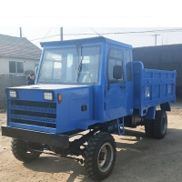 Cheap Diesel Wheat Transport 16HP Construction Tricycle for sale